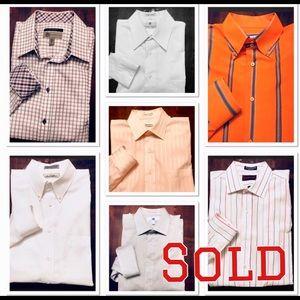 Other - 💰💰Bundle of 7 Men's Dress Shirt in my closet💰💰